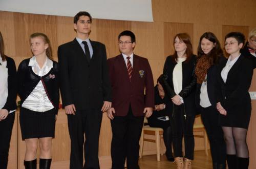 Gala stypendystów 26-11-2013